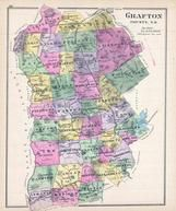 Grafton County, New Hampshire State Atlas 1892 Uncolored